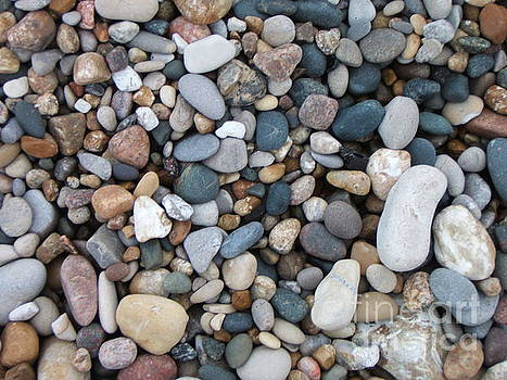 Wet Pebbles by Margaret McDermott