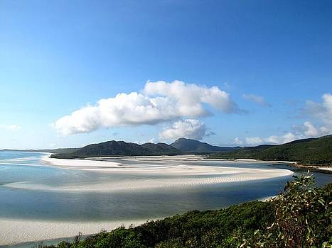 Whitehaven Beach by Elizabeth Hardie