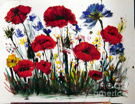 Wild Flowers by Eszter Gyory