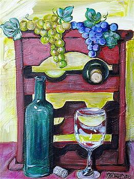 Wine Rack  by Melissa Torres