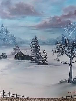 Winter Blues by Kathy Livermore