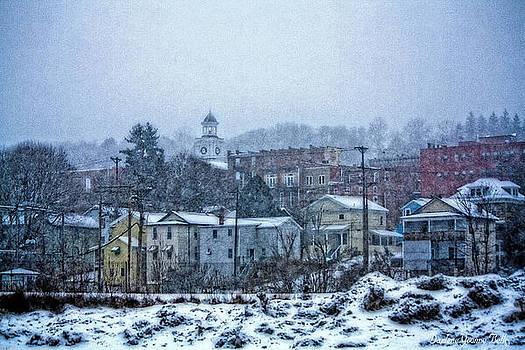 Winter In Brookville 1 by Darlene Bell