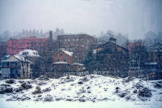 Winter In Brookville 2 by Darlene Bell