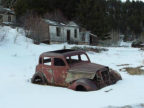 Winter In Marysville MT by Yvette Pichette
