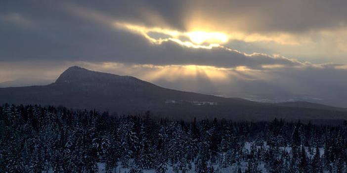 Winter Light by Yves Pelletier