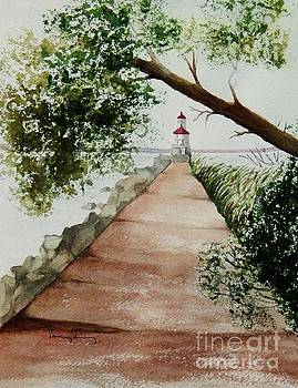 Wisconsin Point Lighthouse by Penny Stroening