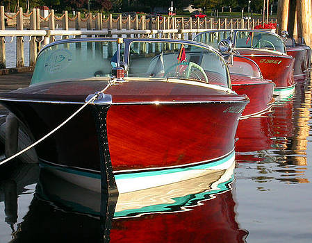 Wooden Boats by Doug Fredericks