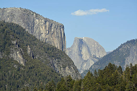 Yosemite's Half Dome from Afar by Bruce Gourley