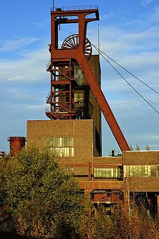 Zollverein Pit Head Essen Germany by David Davies