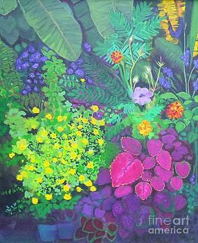 Florida Garden by Trudy Brodkin Storace