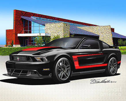 2012 Mustang Boss 302 by Danny Whitfield