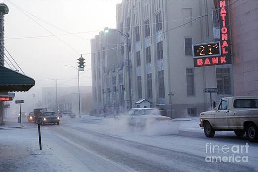 California Views Mr Pat Hathaway Archives - -21 ice fog Cushman Street Fairbanks Alaska 1969