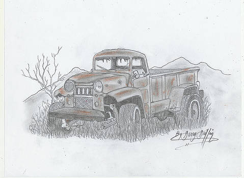 A Rustic Old Truck by Gerald Griffin