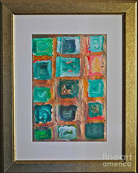 Abstract - My yesterday work - Andrzej Wojciech Goszcz. by  Andrzej Goszcz