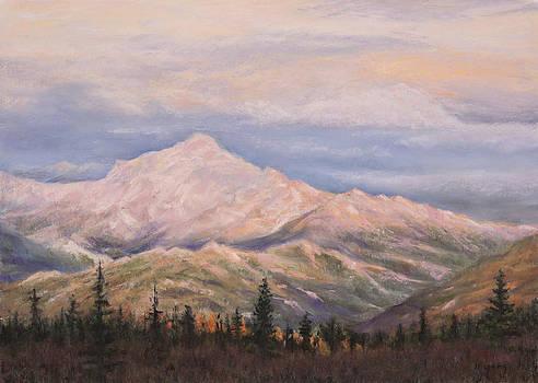Denali Sunset by Nancy Yang