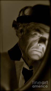 Alfred Hitchcock Presents - Self portrait. Featured 5 Times by  Andrzej Goszcz