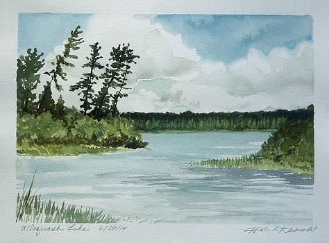 Allequash Lake by Helen Klebesadel