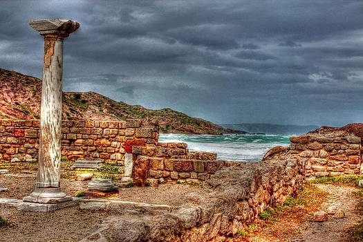 Ancient Ruins In Kefalos Kos Greece by Julia Fine Art And Photography