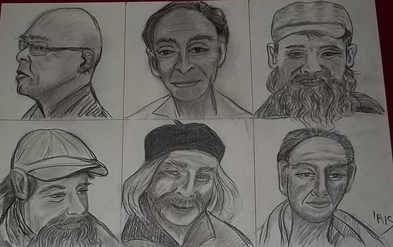 Asian Faces by Iris Devadason