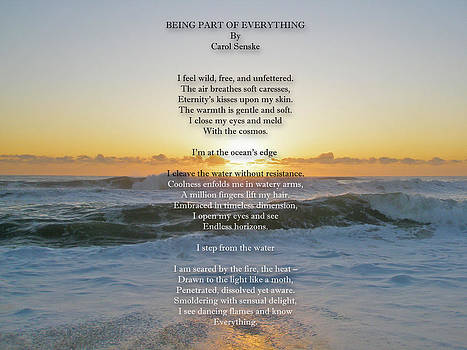 Mother Nature -  Being Part Of Everything - Poem and Image