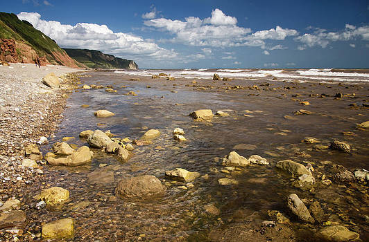Between Weston Mouth and Branscombe by Pete Hemington