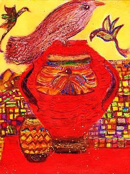 Anne-Elizabeth Whiteway -    Birds and Vase
