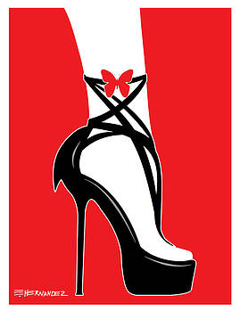 Black Fashionable Shoes by Ed Hernandez