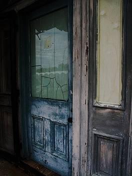 Blue Door by Edwin Newman