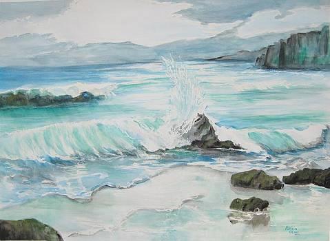 Blue Serenity  by Patricia Olson