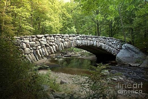 Boulder Bridge Washington D.C by Heinz G Mielke