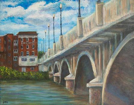 Bridge Over the Dan by Jana Baker