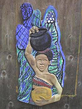 Carrying Water by Kalikata MBula