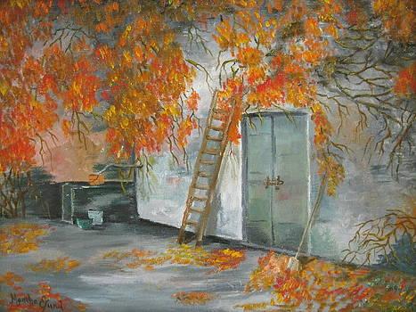 Casentino Italian Door by Martha Efurd