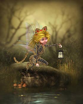 John Junek - Fantasy Cat Fairy