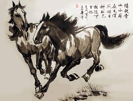 Companionship by Yufeng Wang