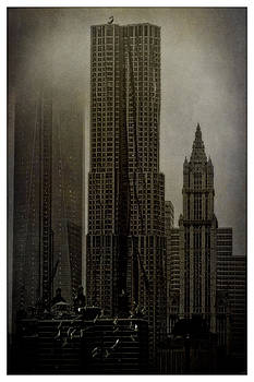 Concrete Steel Glass and Fog by Chris Lord