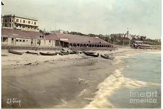 California Views Mr Pat Hathaway Archives -  EAC-2675 Redondo Beach Beach scene California E. A. Cohen Photo Circa 1906