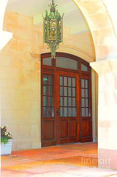 Elegant Arched Entrance by Judy Palkimas