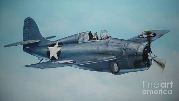 F4F Wildcat by Phil Christman