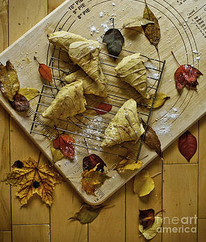 Fall Aroma - Pumpkin Scones by Audrey Wilkie