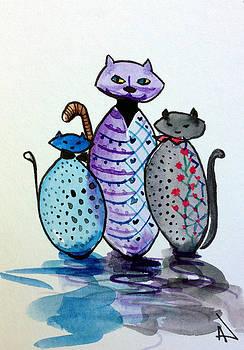 Patricia Lazaro -  Family kittens