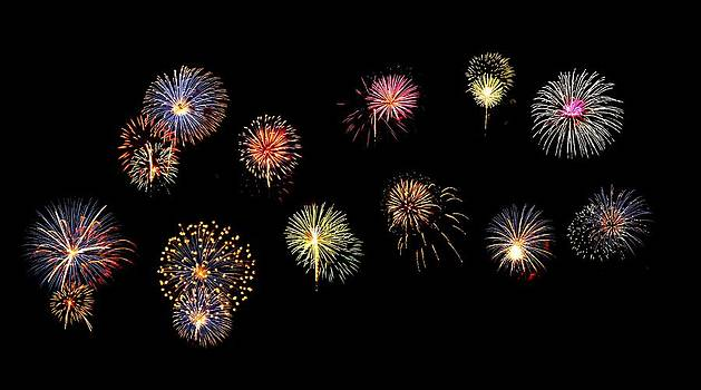 Fire Works by Mike Bass