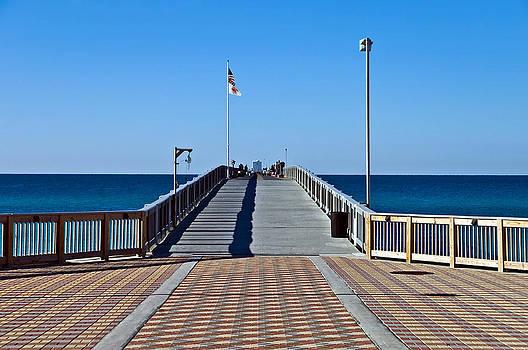 Fishing Pier by Susan Leggett