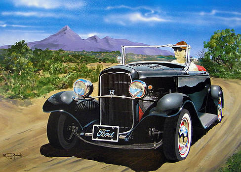 Ford roadster highboy by Richard Mordecki