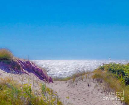 Algirdas Lukas -  Gentle Seascape Stylised