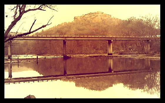 .  Highway 110 bridge near Heber Springs Arkansas by Brian Hubmann