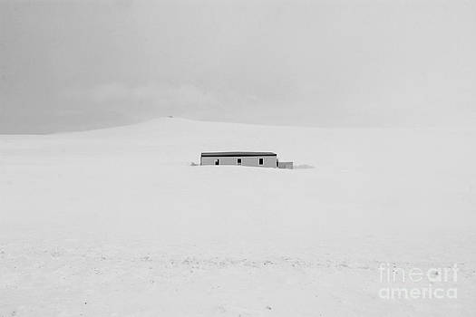 House In The Snow by Julia Fine Art And Photography