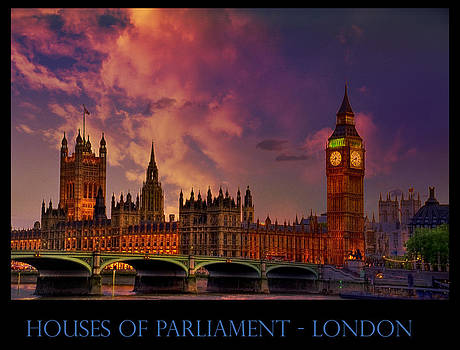 Ludmila Nayvelt -  Houses of Parliament London