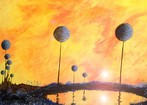 ' Impression of Trapped Sunset' by George Fagnan