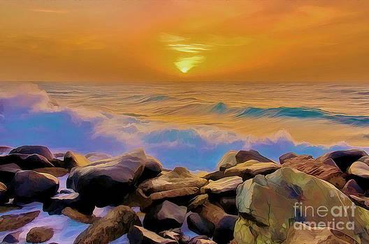 Jeddah Sunset by George Paris